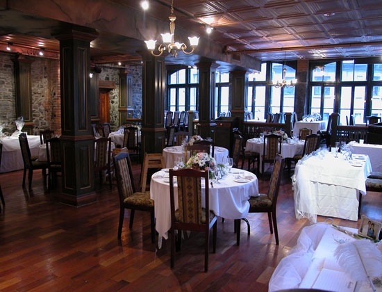 Vieux port restaurant - Restaurants old port montreal ...